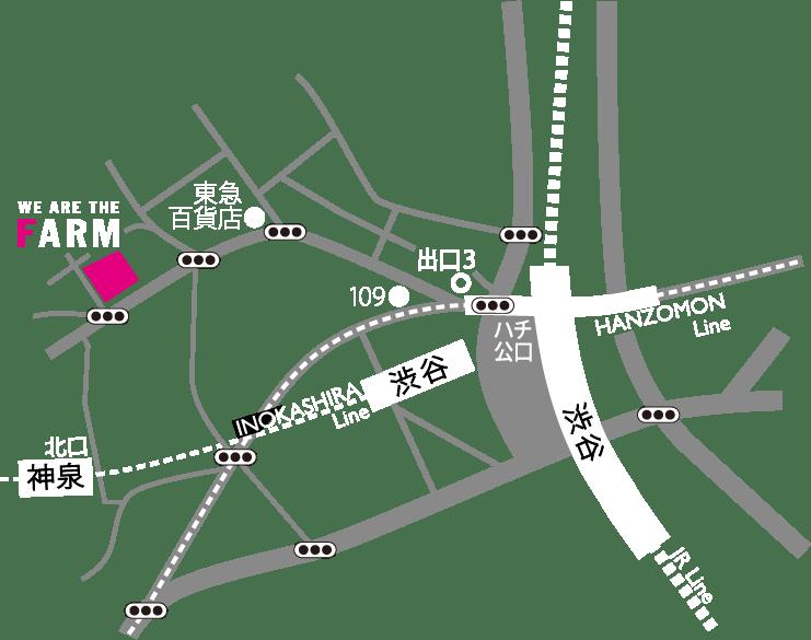 東京都渋谷区松濤1-28-11 Pigeon松濤高田ビル1F